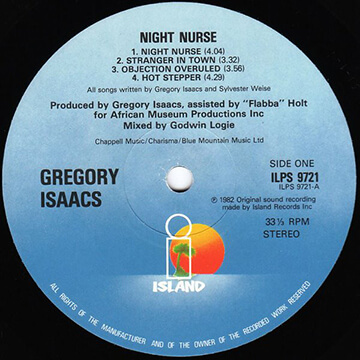 Night Nurse Riddim