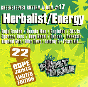 Greensleeves Rhythm Album #17: Herbalist / Energy